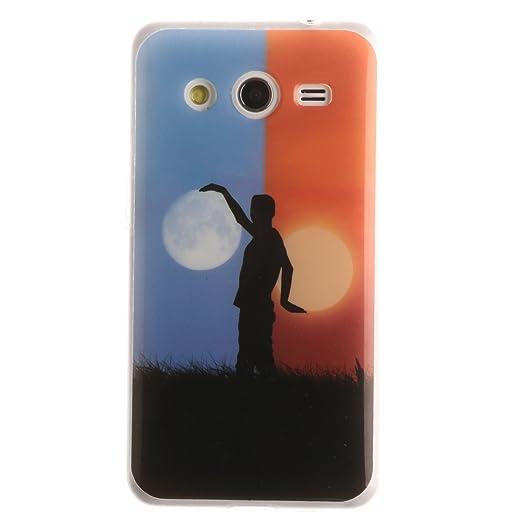 4 opinioni per Voguecase® Per Samsung Galaxy Core 2 G355H, Custodia Silicone Morbido Flessibile