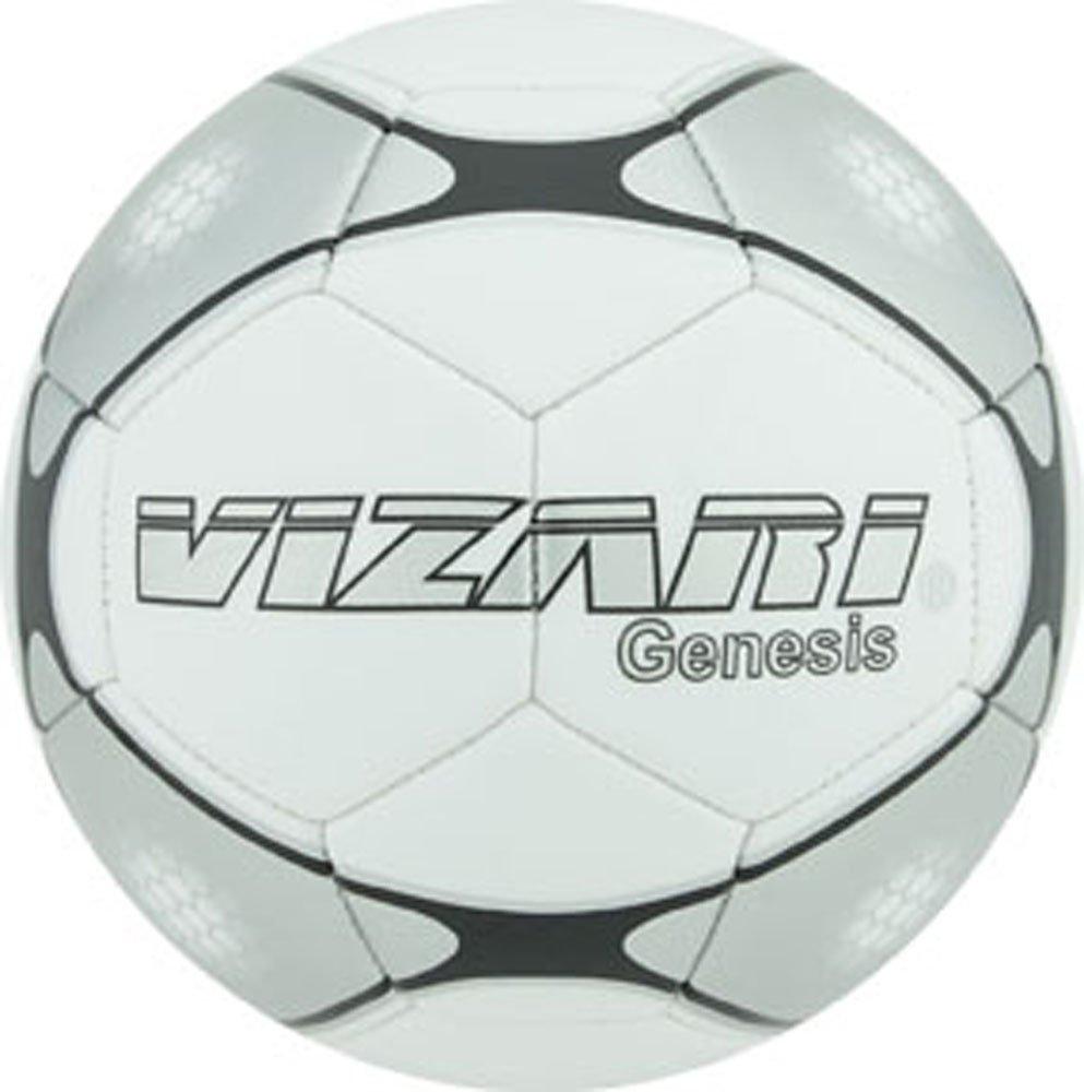 Vizari Genesisボール B00R92ASV8 Size 5|ホワイト ホワイト Size 5