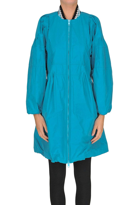 Ermanno Scervino Women's MCGLCSC000005026E Light bluee Polyester Outerwear Jacket