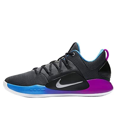 the latest 723be ca7d4 NIKE Herren Hyperdunk X Low Basketballschuhe, Mehrfarbig  (AnthraciteMetallic Silver 004),