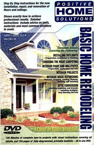 Basic Home Remodeling: Home Improvement DVD