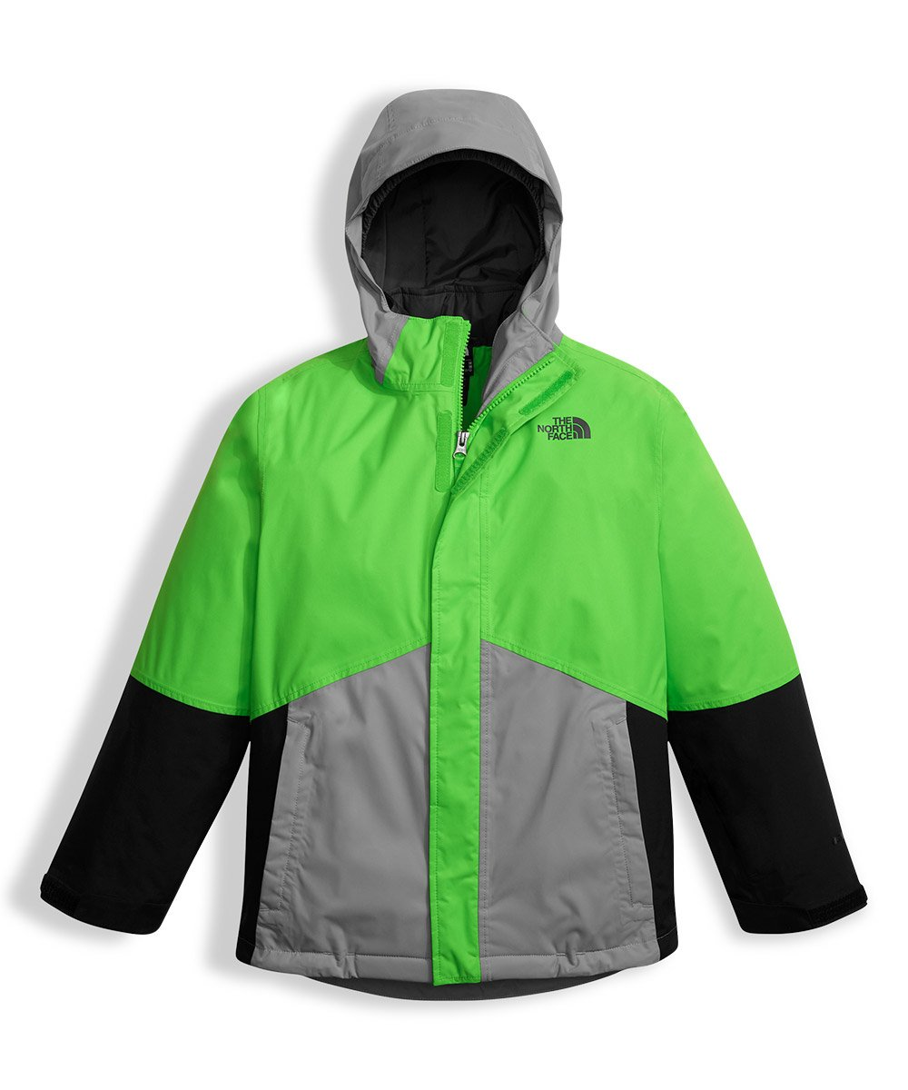 The North Face Big Boys' Boundary Triclimate Jacket - krypton green, xl/18-20