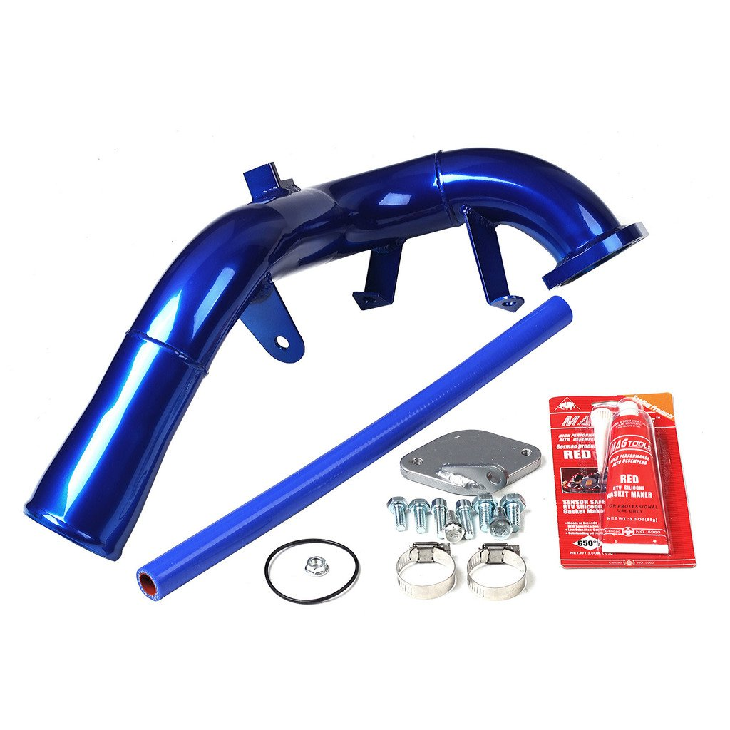 EGR Delet High Elbow Intake Tube Kit For 06-07 Chevy Duramax Silverado LBZ 6.6L by BLACKHORSE-RACING