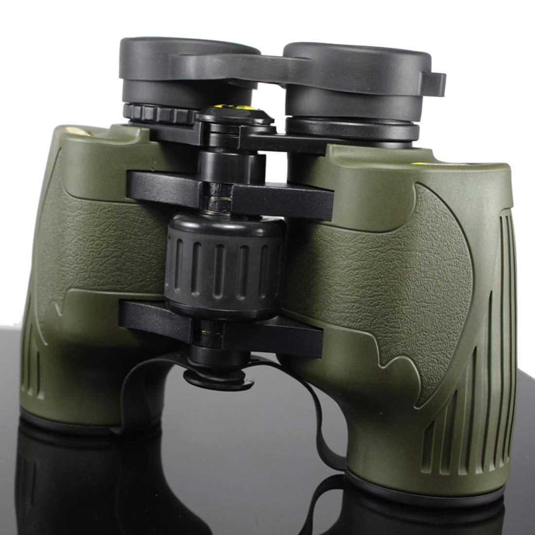 YY3 8x36 Compact Lightweight Fernglas Erwachsene, Teleskop für Vogelbeobachtung, Outdoor Camping und Sportspiele (Farbe : Grün)