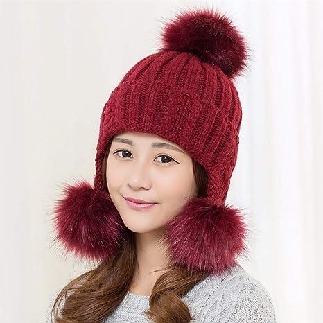 Amazon.com  YIERSANSI Winter hat 25ccefe9382