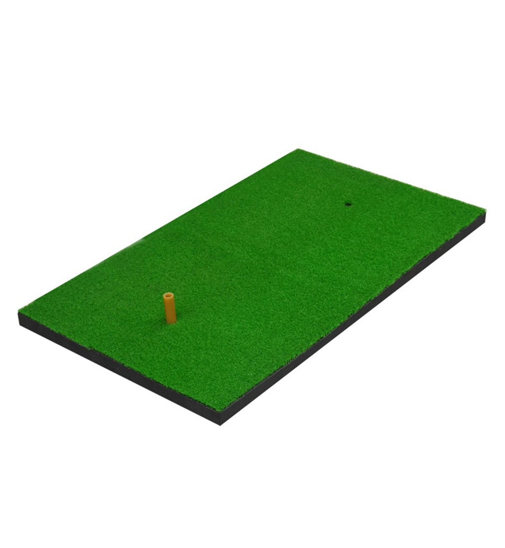 ZRXianゴルフマットPPグラスゴルフパッティングマットゴルフトレーニングマット/ゴルフスイングマット/ゴルフフェアウェイマット/ゴルフ練習用マットゴルフボールとゴム製ティー-70 * 40 cm裏庭ゴルフマット   B07JRH3GDZ
