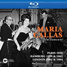 Callas Toujours, Paris 1958 / in concert, Hamburg 1959 & 1962 / at Covent Garden, London 1962 & 1964