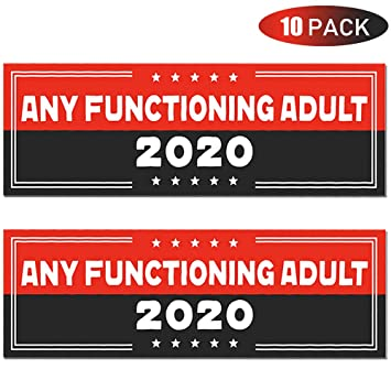 Fall 2020 Decals.Pacetap 10 Pcs 9 X 3 Inch Trump 2020 Stickers Car And Truck Bumper Stickers Decals 45 Presidential Election Keep America Great