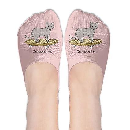 Pizza - Calcetines de skate para gato y niña, diseño de calcetines