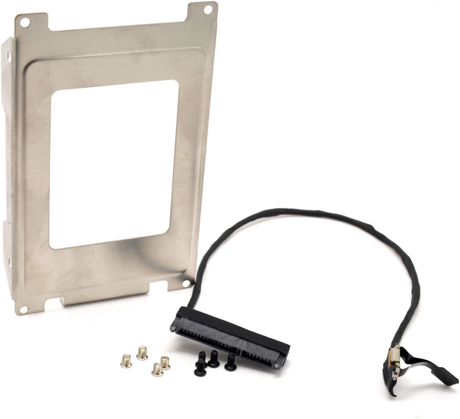 Deal4GO 2nd Second SSD HDD Hard Drive Caddy Mounting Bracket with SATA Cable Long for HP Pavilion DV7-6000 DV7-6xxx DV7-61xx DV7-6Bxx DV7-6Cxx DV7T-6000