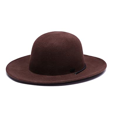 4be2de96caf80 Original Chuck by Mark McNairy Full Brim Wool Hat - Brown -  Amazon.co.uk   Clothing