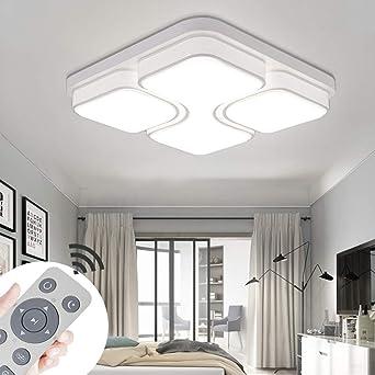 ADEMAY 36W Dimmbar LED Deckenleuchten Moderne Deckenleuchte für ...
