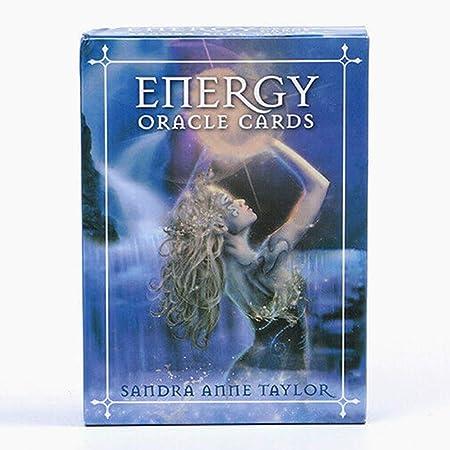 Jyuesi Espiritual 53 Energía Oráculo Mazo de Cartas Misterio Tarot ...