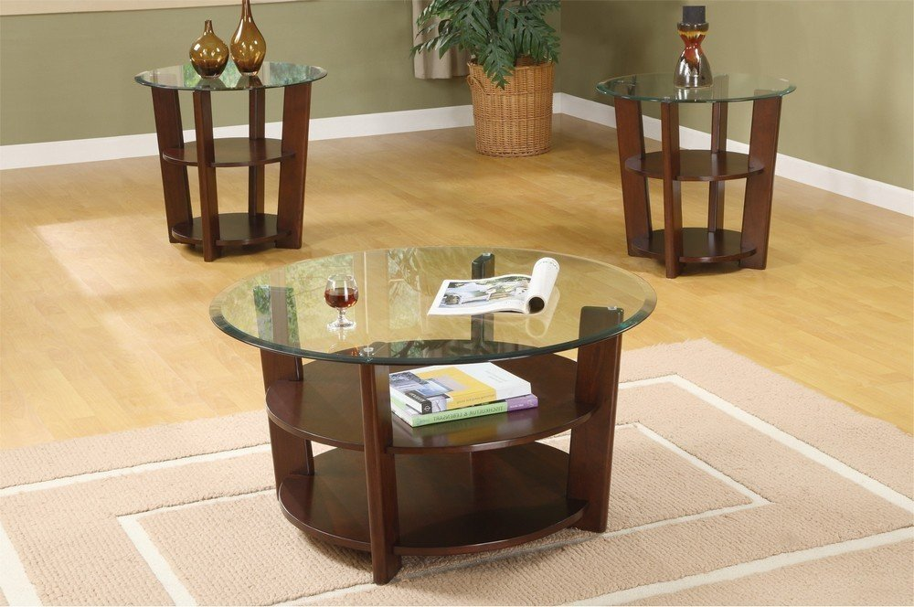 Coffee And End Table Sets With Storage 3