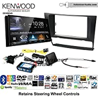 Volunteer Audio Kenwood DDX9904S Double Din Radio Install Kit with Apple CarPlay Android Auto Bluetooth Fits 2006-2013 BMW 3 Series