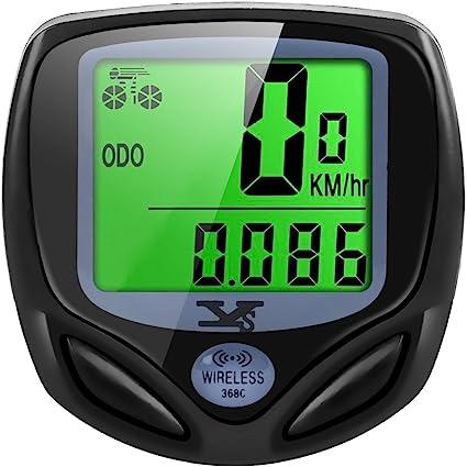 YouN /étanche 15/Fonction LCD V/élo Odom/ètre Compteur de vitesse de v/élo Speed