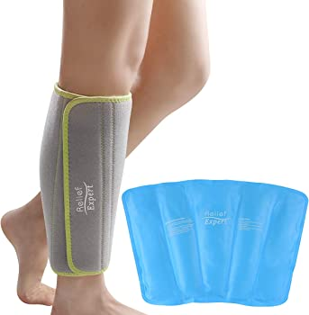 Relief Expert Calf and Shin Splint Ice Pack for Injuries