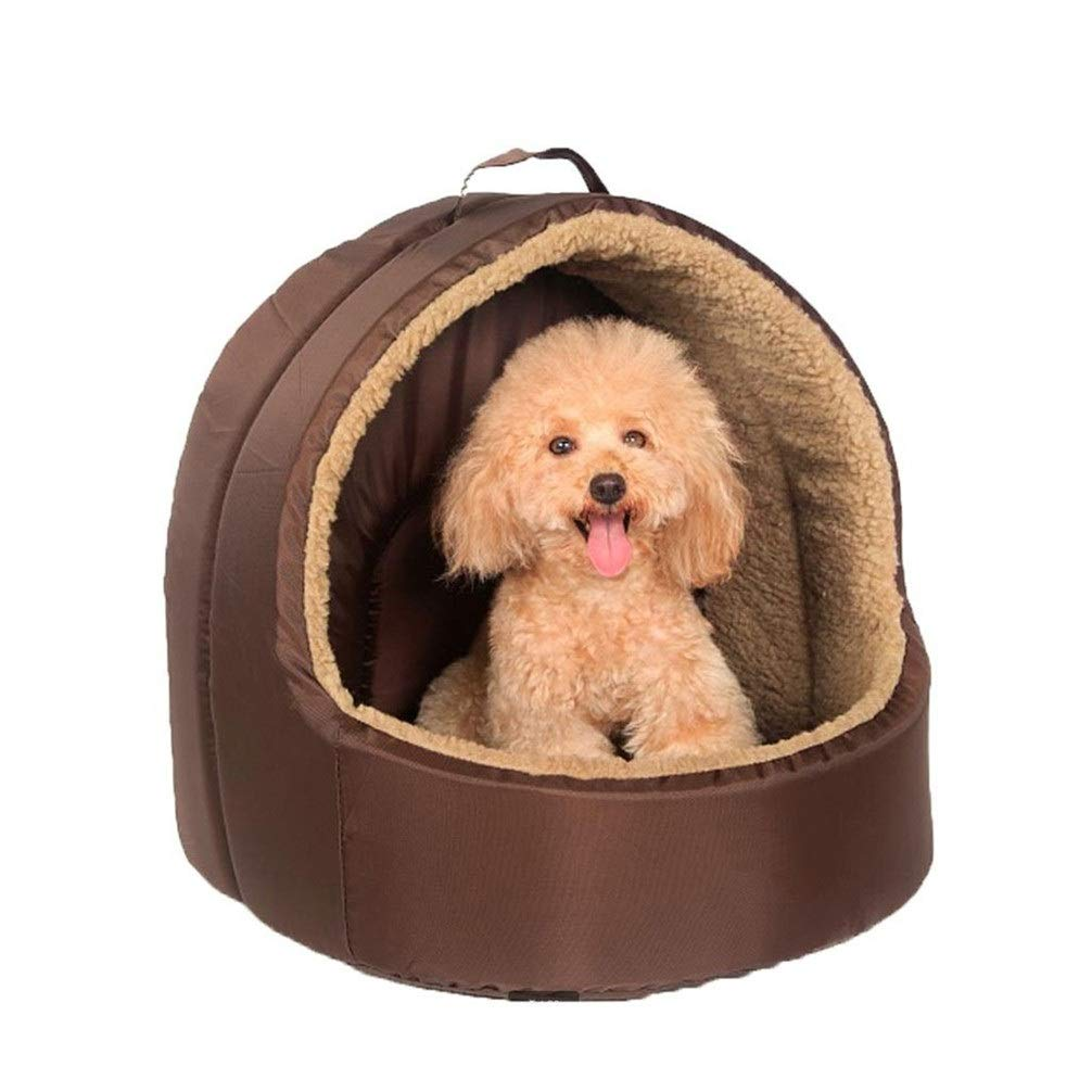 Chunchun Dome Dog House Cat Litter Teddy Bomei Small Dog Pet Supplies Four Seasons Universal (Size : M) by Chunchun