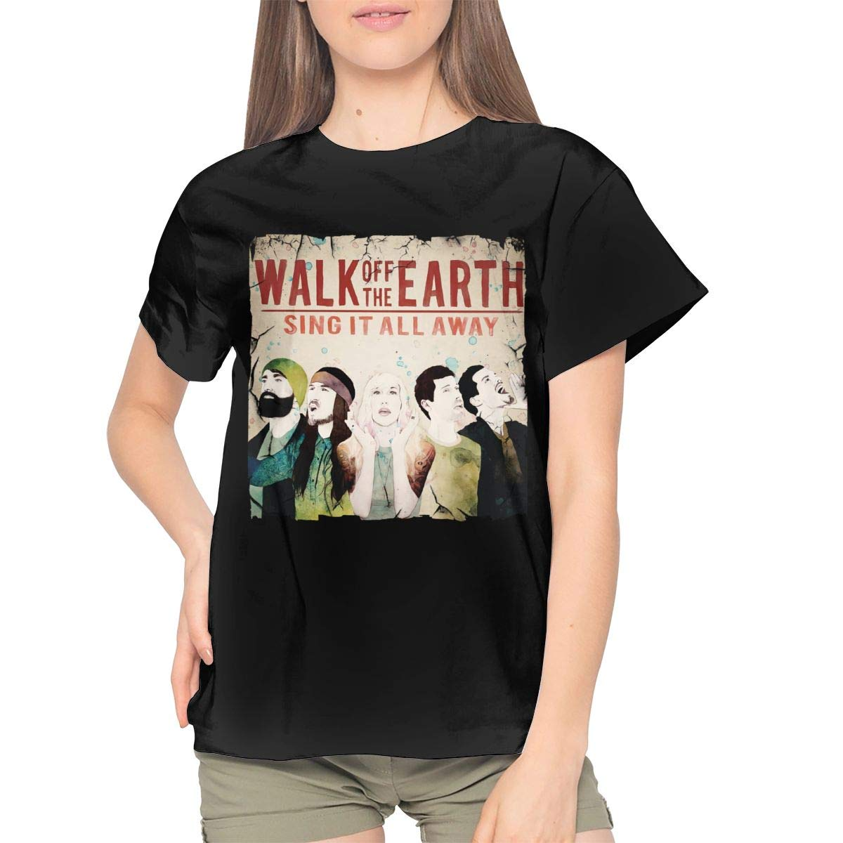 Walk Off The Earth Sing It All Away Band Music Theme Sports Short Sleeve T Shirt 9317