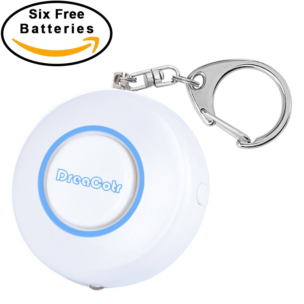 Personal Alarm,130DB Safety Emergency Self-Defense Security Alarms with LED Flashlight,Safesound Personal Alarm Keychain for Women Kids Elderly Students Night Workers(Blue)