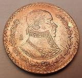1964 Silver Mexican Un Peso%2C KM%23459
