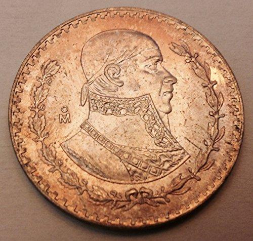 (1964 Silver Mexican Un Peso, KM#459)