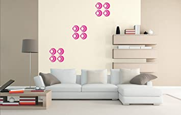 Buy Asian Paints Royale Play Wall Fashion Circles Stencil/Wall Sticker For  Home And Office Wall Décor Online At Low Prices In India   Amazon.in