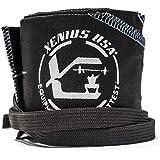 Xenios US, polsino X Wrist Twist, dimensioni 7,5X 90cm colore nero/blu