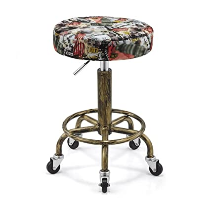 Swivel Chair Lift Chair Stool Hairdressing Chair Sliding Wheelchair Makeup Stool Master Stool. Beauty Stool
