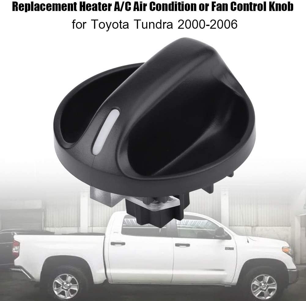 Air Conditioning A//C Control Switch Knob Button Air Conditioner Heater Control Switch for Toyota Tundra 2000-2006 55905