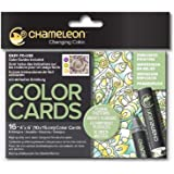 Chameleon Art Products,彩色卡 花卉图案 CHM02207