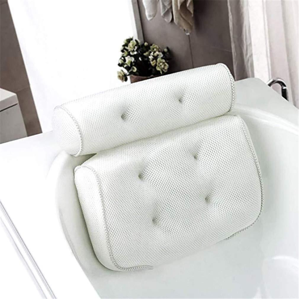 LIXIAQ1 Coussin de Bain Relaxant Coussin de Bain Relaxant pour Oreiller de Bain Spa /épais et antid/érapant