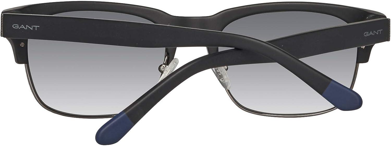 NEW Gant GS7019MBLK-35 Matte Black Grey Gradient Sunglasses