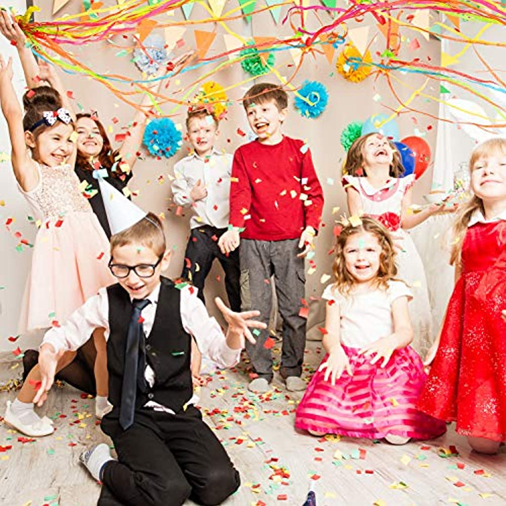Party Popper, Confetti / Streamer, 5.5*2.5cm, 360pcs/lot ... |Party Poppers Streamers