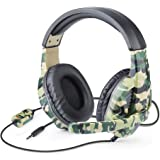 Picozon Gaming Headset with Microphone, 3.5mm Plug Headphone for PS4, Nintendo Switch, Playstation 4, Xbox One, Computer, Lap