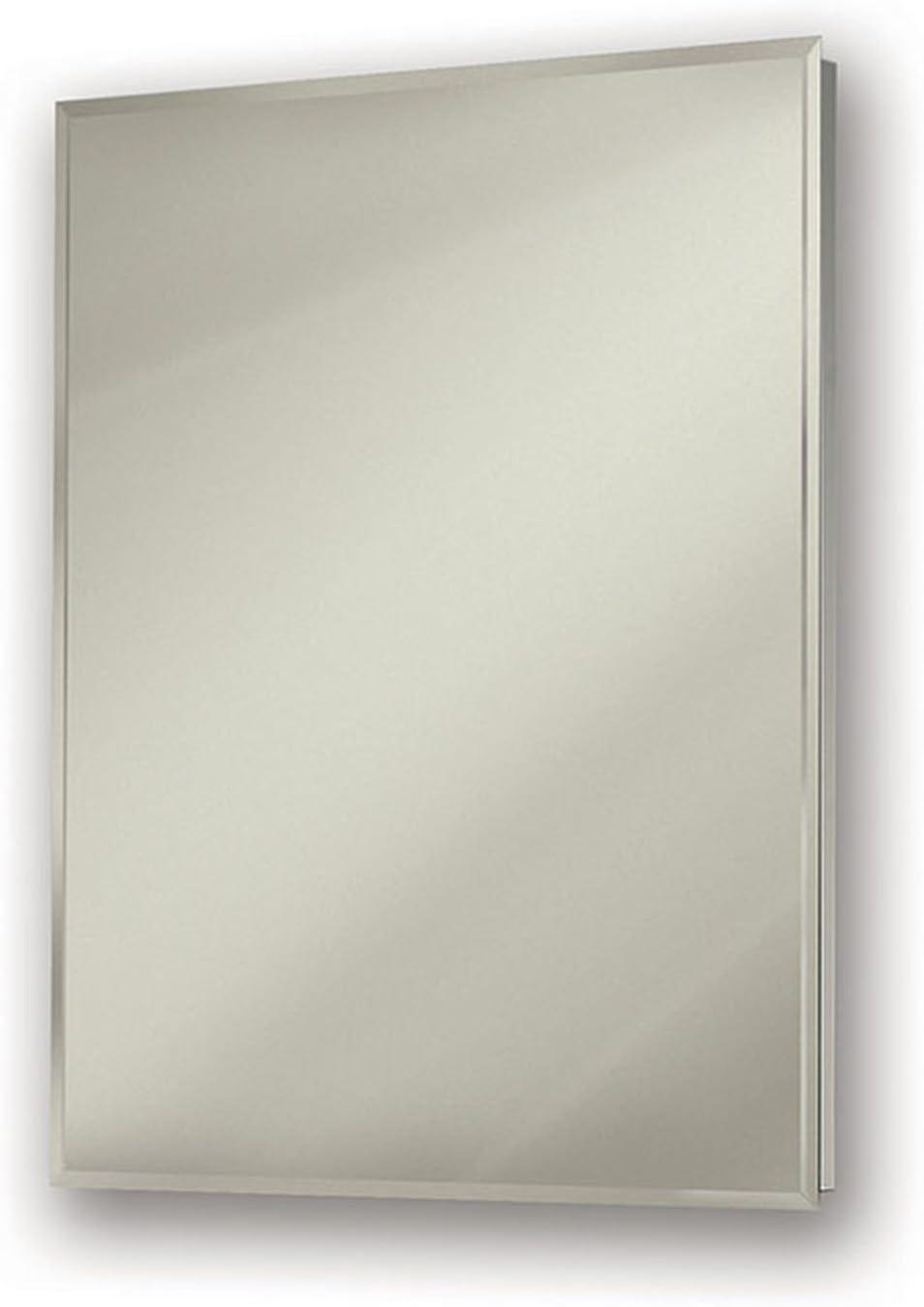 Jensen 530924X Bevel Mirror Medicine Cabinet, 24 x 30