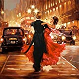 5D DIY Diamond Painting Couples Dance Embroidery Full Square Diamond Cross Stitch Home Decor