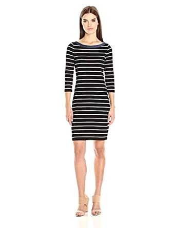 270b944e170 Image Unavailable. Image not available for. Color: Tommy Hilfiger Womens  Boardwalk Stripe Sheath Dress ...