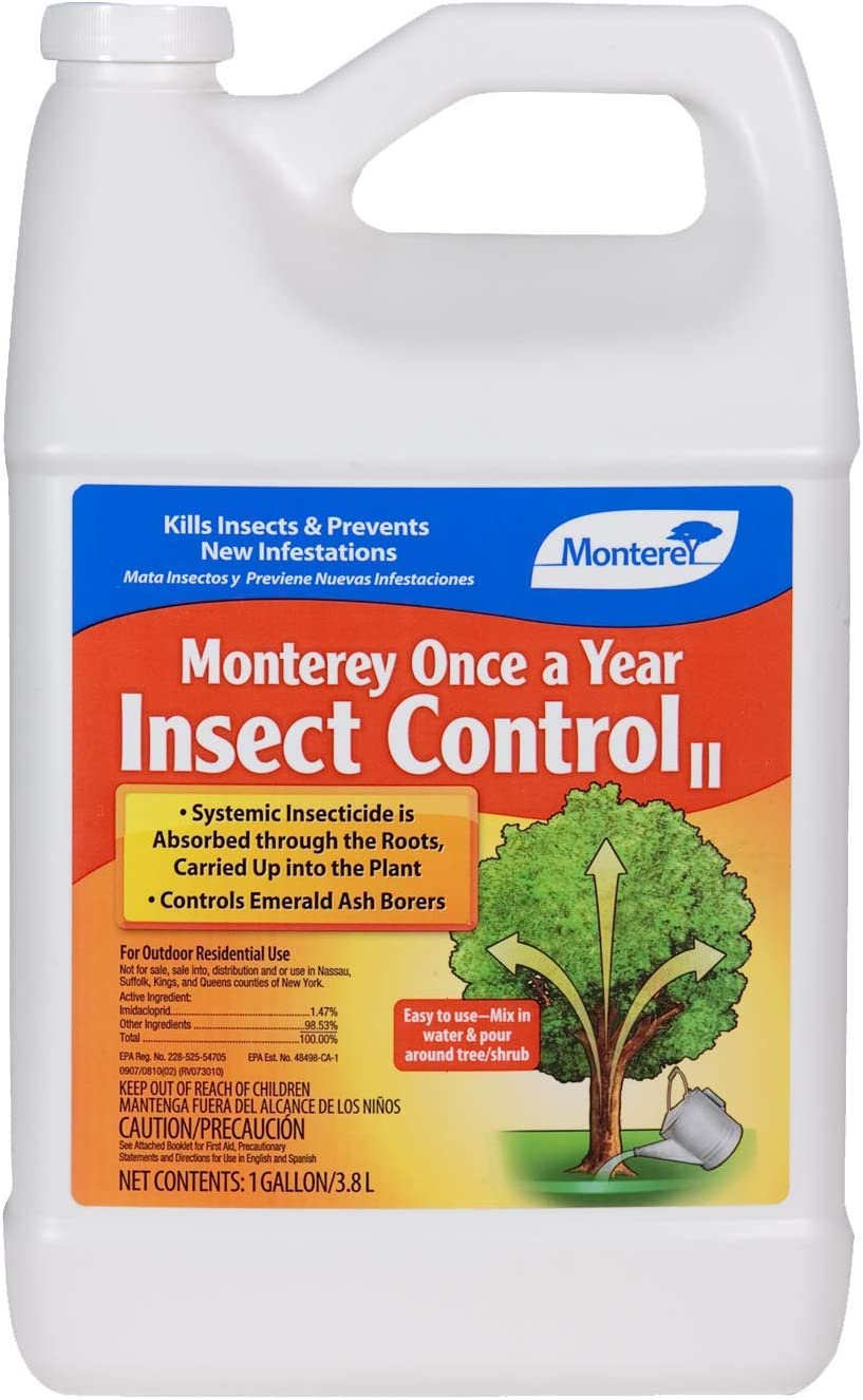 Monterey LG6350 Once A Year Concentrate Insect Control, 1 Gal, Clear