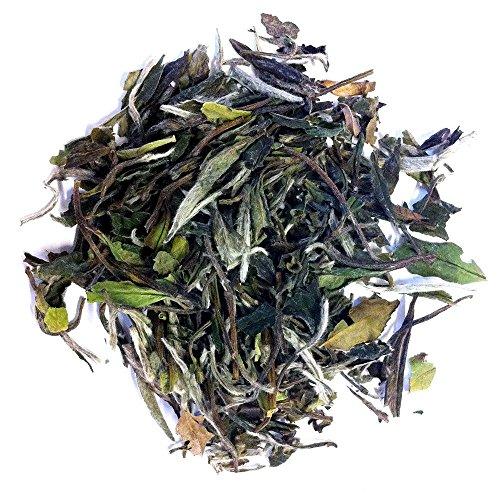 Organic White Peony Tea, Loose Leaf Tea Bag, Positively Tea LLC. (1 lb.) (Peony Organic Tea)