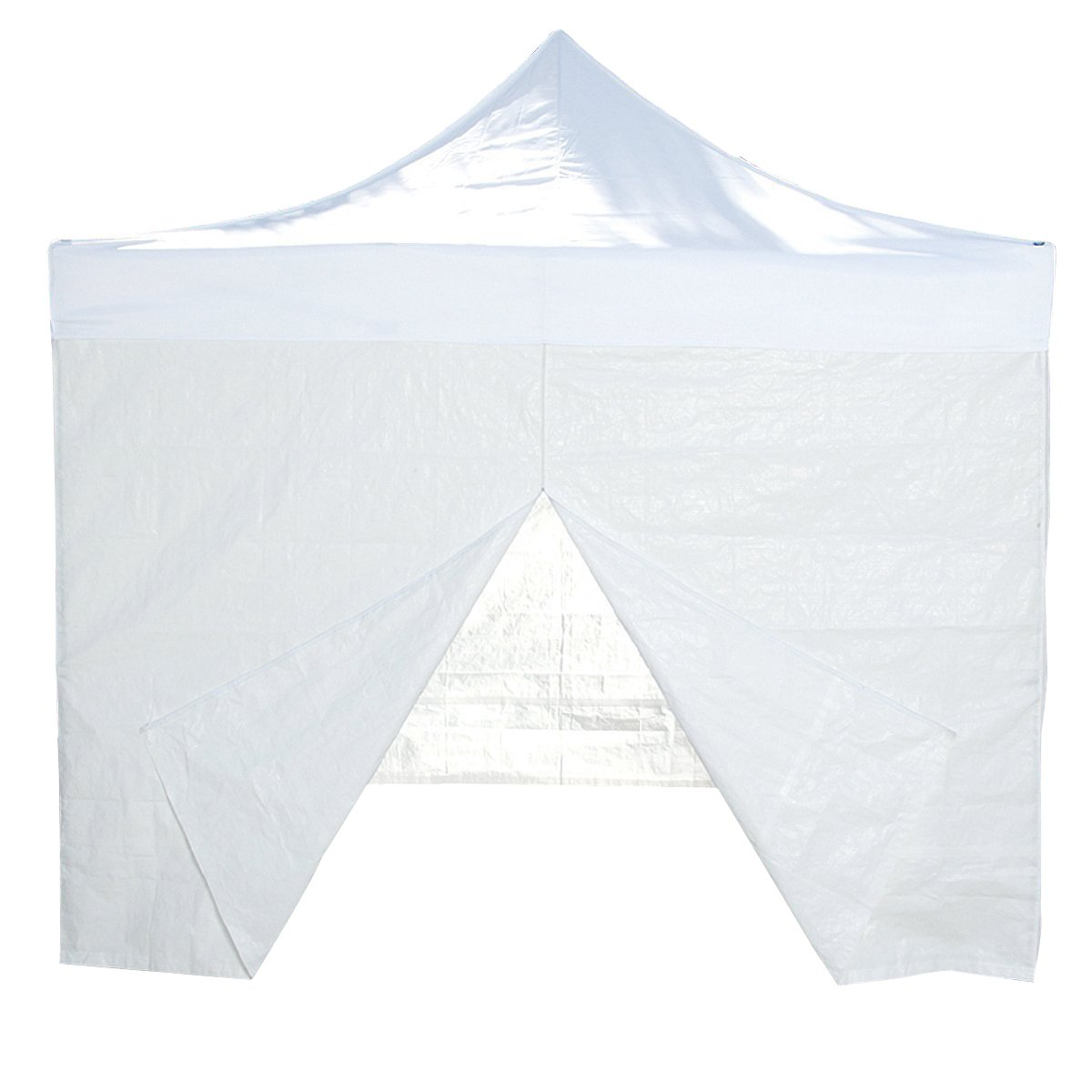 Sconto del 30% Qisan baldacchino tenda Sidewall kit 10 x 10 piedi, bianco (4 pz)