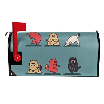 Amazon.com: Tidyki Yoga Cats Lover Exercise Large Magnetic ...