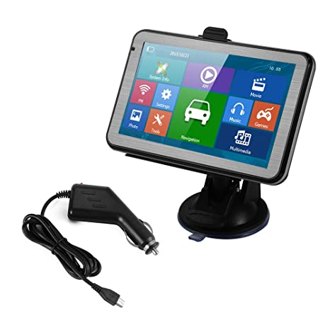 "R XCSOURCE® 5 "" Navegador GPS portátil de coche HD pantalla táctil 128M 8GB"