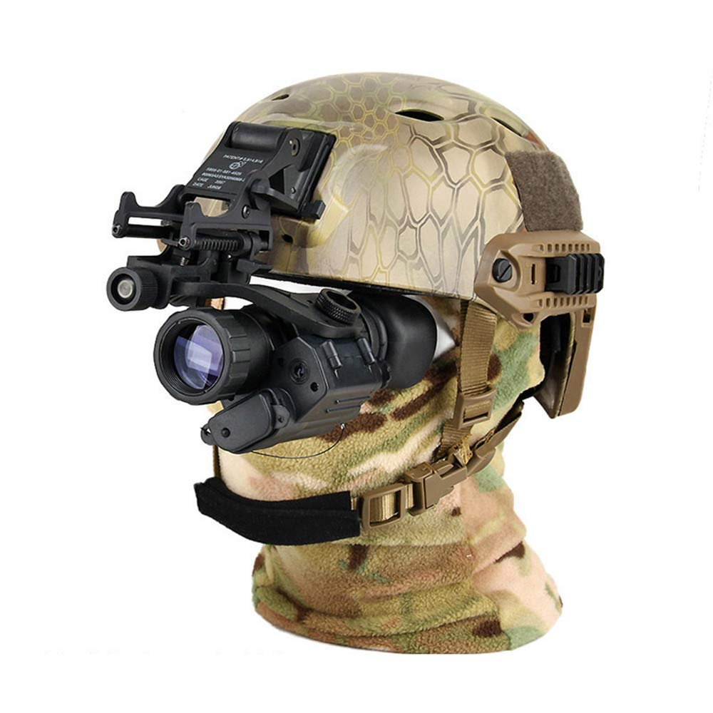 Four Night Vision Instrument,Infrared Night Vision Hunting Camera Digital Night Vision Scope for Helmet Monocular Night Vision Hunting