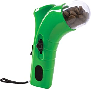 Dog Treat Dispensing Toy Launcher - Pet Treats Launcher, Dog Foods Catapult Toy for Puppy Food Treats, Interactive Dog Toy, Hand Held Cats Pets Treats Launcher Foods Throwing Dispensing Dog Feeder