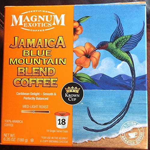 - Magnum Coffee K-Cups, Jamacian Blue Mountain, 18 Count