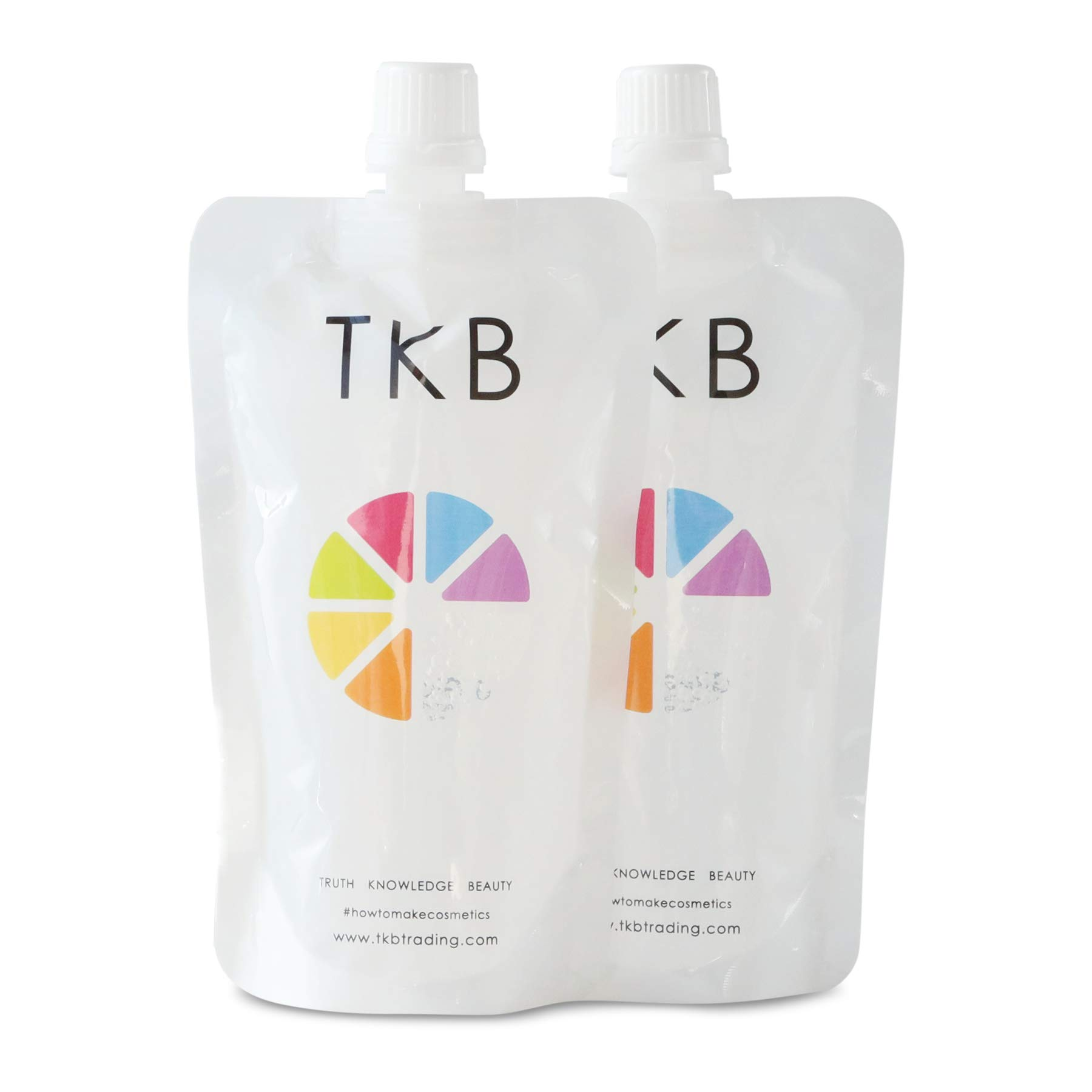 TKB Lip Gloss Base   Clear Versagel Base for DIY Lip Gloss, Made in USA 11 oz (2 of 5.5 oz bags) Mineral-Oil-Free ($1.37/oz)