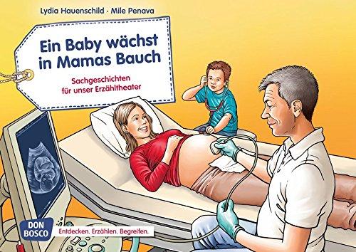 Ein Baby wächst in Mamas Bauch. Kamishibai Bildkartenset.: Entdecken. Erzählen. Begreifen: Sachgeschichten. (Sachgeschichten für unser Erzähltheater)