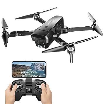 Dron cuadricóptico de doble cámara con mando a distancia para ...