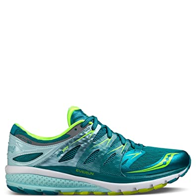 SAUCONY ZEALOT ISO 2 De las mujeres Running Shoes Sneakers Size 8